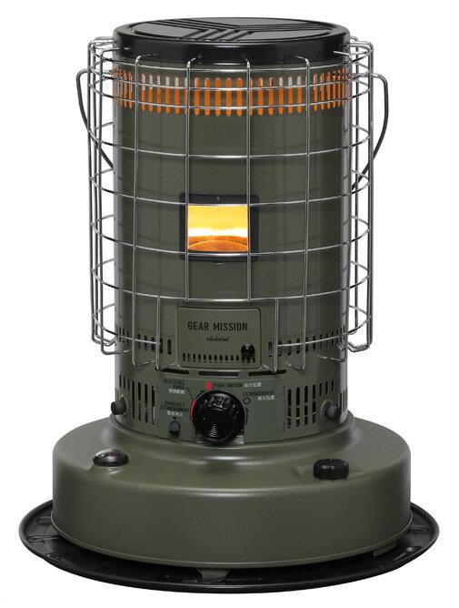 トヨトミ 対流型石油ストーブ GEAR MISSION KS-GE67