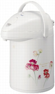 Peacock thermos Airpot 2.2 L flower MEP-22