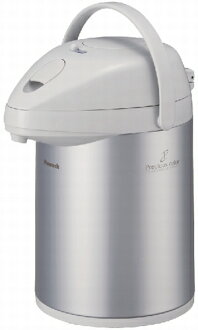 Peacock thermos Airpot 2.2 L silver MEP-22