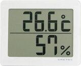 """其中一个温度计,湿度计。墙上还站在行! - 超过2000日元 - 数字湿度计Doritekku""""后进入""""O型226WT白[【2160以上】ドリテック デジタル温湿度計「アクリア」 ホワイト O-226WT]"""