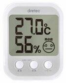 【2160円以上送料無料】 ドリテック デジタル温湿度計 オプシスプラス ホワイト O-251WT