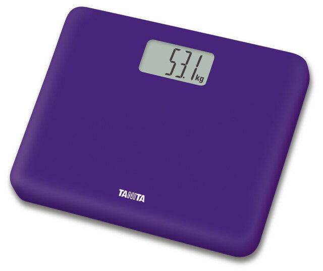 【2160円以上送料無料】タニタ HD-660-PP デジタルヘルスメーター パープル体重計