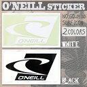 O'NEILL(オニール) STICKER SURF ICON 22cm 品番:GO-1500 サーフアイコン ロゴステッカー カッティングタイプ 型抜き 日本正規品