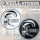 O'NEILL オニール オリジナルアイコン ロゴステッカー O'RIGINAL ICON STICKER 18cm 品番 GO-1600 日本正規品