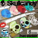 Skullcandy(スカルキャンディー) sticker ステッカー シール ロゴステッカー サーフィン 大小2枚セット