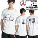 2021年2月上旬出荷 予約商品 21 Quiksilver クイックシルバー ラッシュガード KANOA PHOTO SS UVカット UPF50+ 五十嵐カノア Tシャツ 半袖 REGULAR FIT メンズ 2021年春夏 品番 QLY211083 日本正規品