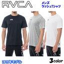 19 RVCA ルーカ ラッシュガード スポーツ メンズ 2019年春夏新作 PIN DOWN SS 品番 AJ041-858 日本正規品