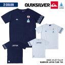 2021年3月上旬出荷 予約商品 21 QUIKSILVER クイックシルバー Tシャツ NAMINORI JAPAN TUBE TEE 波乗りジャパン 半袖 野老朝雄 サーフィン 日本代表 メンズ 2021年春夏 品番 QST202004T 日本正規品