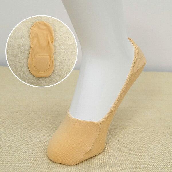 深履き無地カバーソックス 靴下 綿混 低反発ク...の紹介画像2