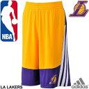 adidas NBA レイカーズ バスケットボールパンツ メンズ ゲームショーツ ハーフパンツ WD775