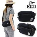 チャムス ショルダーバッグ CHUMS ショルダーポーチ CH60-0627 スウェットバッグ 2WAY メンズ レディース ブラック 黒色 通販 販売 即納 人気 ペンギン カツオドリ