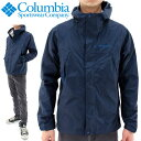 Columbia(コロンビア) 防水ジャケット ワバシュ PM5990 425 ネイビー アウター レインウェア