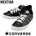 ネクスター120 コンバース ローカット 黒 CONVERS...