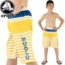 クロックスキッズサーフパンツサーフトランクス130〜160cm男の子crocs127145