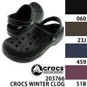 クロックス 冬用サンダル ボア付き ウィンタークロッグ CROCS CROCS WINTER CLOG レディース メンズ