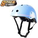 スケートボード ヘルメット 子供用 SPOON RIDER キッズヘルメット プロテクター 子供用ヘルメット