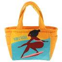 ショッピングマザーズバッグ PUNKY ALOHA 中綿トート バッグ エコバッグ レディース ショルダーバッグ 203PA4BG060 オレンジ