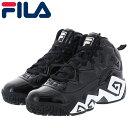 ショッピングバスケットシューズ フィラ マッシュバーン オピュレント メンズ レディース スニーカー FILA MFW20010 ブラック
