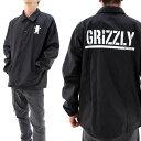 ジャケット GRIZZLY コーチジャケット グリズリー メンズブルゾン ナイロンジャケット SMC1613P01