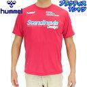 hummel メンズ Tシャツ HAP4105 ヒュンメル 半袖 ドライ ランニング トレーニング サッカー 自転車