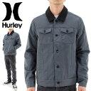 【セール】HURLEY ジャケット 耐久性撥水 防寒裏キルト ハーレー グレー