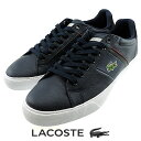 ラコステ LACOSTE FAIRLEAD URS MZF018 Ortholite 革靴 レザースニーカー