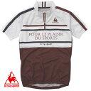 ルコック サイクルウェア QC-741231 メンズ Lecoq 半袖シャツ サイクルジャージ 自転車 ツーリング おすすめ 販売 特価 半袖サイクリングシャツ 人気ブランド 即納 通販