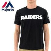 レイダース マジェスティック Tシャツ MAJESTIC RAIDERS NFL アメフト