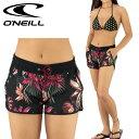 ONEILL水着花柄サーフパンツボードショーツレディースオニールサーフトランクス627400
