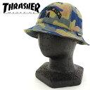 スラッシャー 15TH-H52 バケットハット THRASHER バケット HAT 帽子 SAN FRANCISCO USA