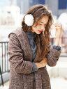 【メーカー公式】【earth music&ecology】・カールイヤーマフラー アースミュージックアンドエコロジー レディース ファッション 秋冬 かわいい オシャレ 大人 カジュアル オフィス きれいめ 流行り