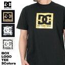 ショッピングシューズボックス DC SHOES 半袖Tシャツ BOX STARS SS メンズ 男性用 コットン 白/黒 M/L/XL 5126J035