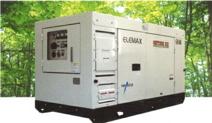 ((※法人販売限定)) エレマックス ディーゼル発電機 SHT25D−EX 澤藤電機 発電機 ※離島は別途送料かかります。