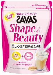 プロテイン SAVAS(<strong>ザバス</strong>) シェイプ&ビューティー 15食分(210g) 3個セット strongsports