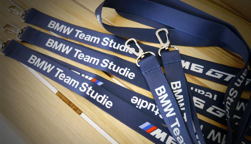 BMW Team Studie M6GT3ネックストラップ