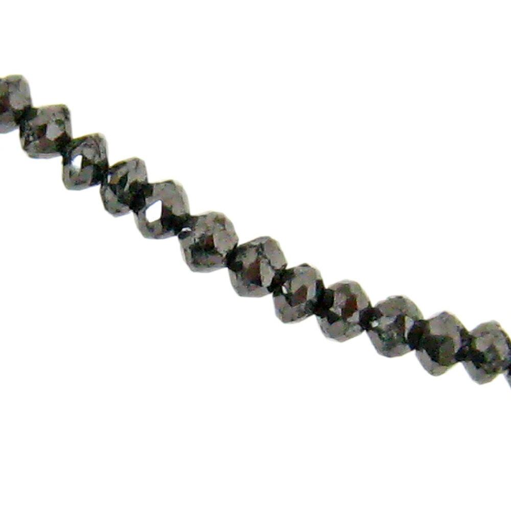 ブラックダイヤモンド ネックレス ダイヤモンド ネックレス 30ct グレードAAA ブラ…...:studio-bonheur:10000138