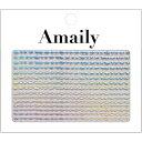 【数量限定価格・即納】Amaily アメイリー ネイルシール No.8-13 波ライン(OS)【ネイ...