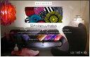 【マリメッコ ファブリックパネル】 marimekko ファブリックボード Siirtolapuutarha(MLT) [ご注文サイズ:W140cm×H55cm...