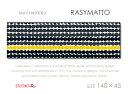 marimekko(マリメッコ) ファブリックパネル / ファブリックボード RASYMATTO(BKYR)[限定カラー] 【北欧 ファブリック】[SIZE:W140×H45]各サ...