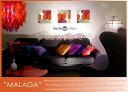 ファブリックボード ファブリックパネル BORAS ボラス MALAGA(RED)[SIZE:W30cm×H30cm×3set]【北欧 ファブリック】