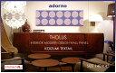 ファブリックボード ファブリックパネル ADORNO アドルノ社 THOLUS(PUR)size:W140cm×H45cm各サイズ選べます 【北欧 ファブリック】