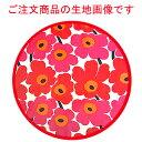 marimekko(マリメッコ) ファブリックパネル/ファブリックボード MINI-UNIKKO(RED)[ご注文サイズ:W90cm×H60cm]北欧 ファブリック