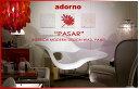 ファブリックパネル / ファブリックボード ADORNO社 / アドルノ PASAR(RED)no1 / パサール [SIZE:30cm×H30cm×3枚set] 各サイズ選べます...