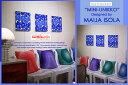 marimekko(マリメッコ)ファブリックパネル ファブリックボード MINI-UNIKKO(BL)[SIZE:W30×H30×3枚]各サイズ選べます 北欧 ファブリック