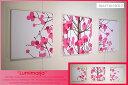 marimekko(マリメッコ) ファブリックパネル ファブリックボード Lumimarja(RED)[ご注文サイズ:W40cm×H40cm×3set]北欧 フ...
