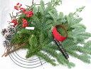 【クリスマスリース 手作りキット】【生花】モミの木の クリスマスリースキット 424 【あす楽】【切花】【資材】【RCP】