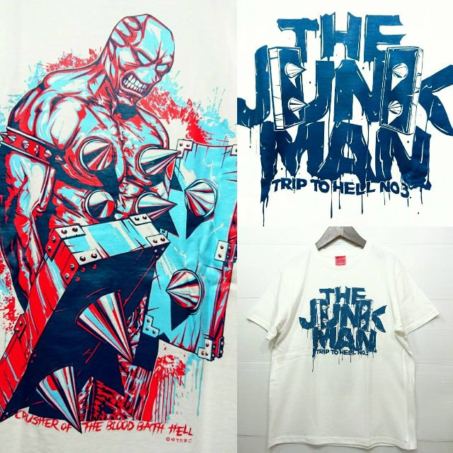ジャンクマン キン肉マン Tシャツ 半袖Tシャツ...の商品画像