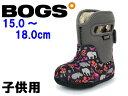 ボグス ベビー クラシック アニマルズ 子供用 BOGS BABY 717485S キッズ&ジュニア 防水 防滑 保温 ブーツ グレーマルチ(01-13107102)