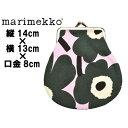 マリメッコ ピエニクッカロ ミニ MARIMEKKO PIENI KUKKARO MINI ポーチ ウニッコピンクxグリーン (01-74036782)