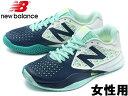 訳あり品 ニューバランス WC996BB2 23.0cm US6.0 ブルーxターコイズ WC996BB2 女性用 NEW BALANCE (nb178)